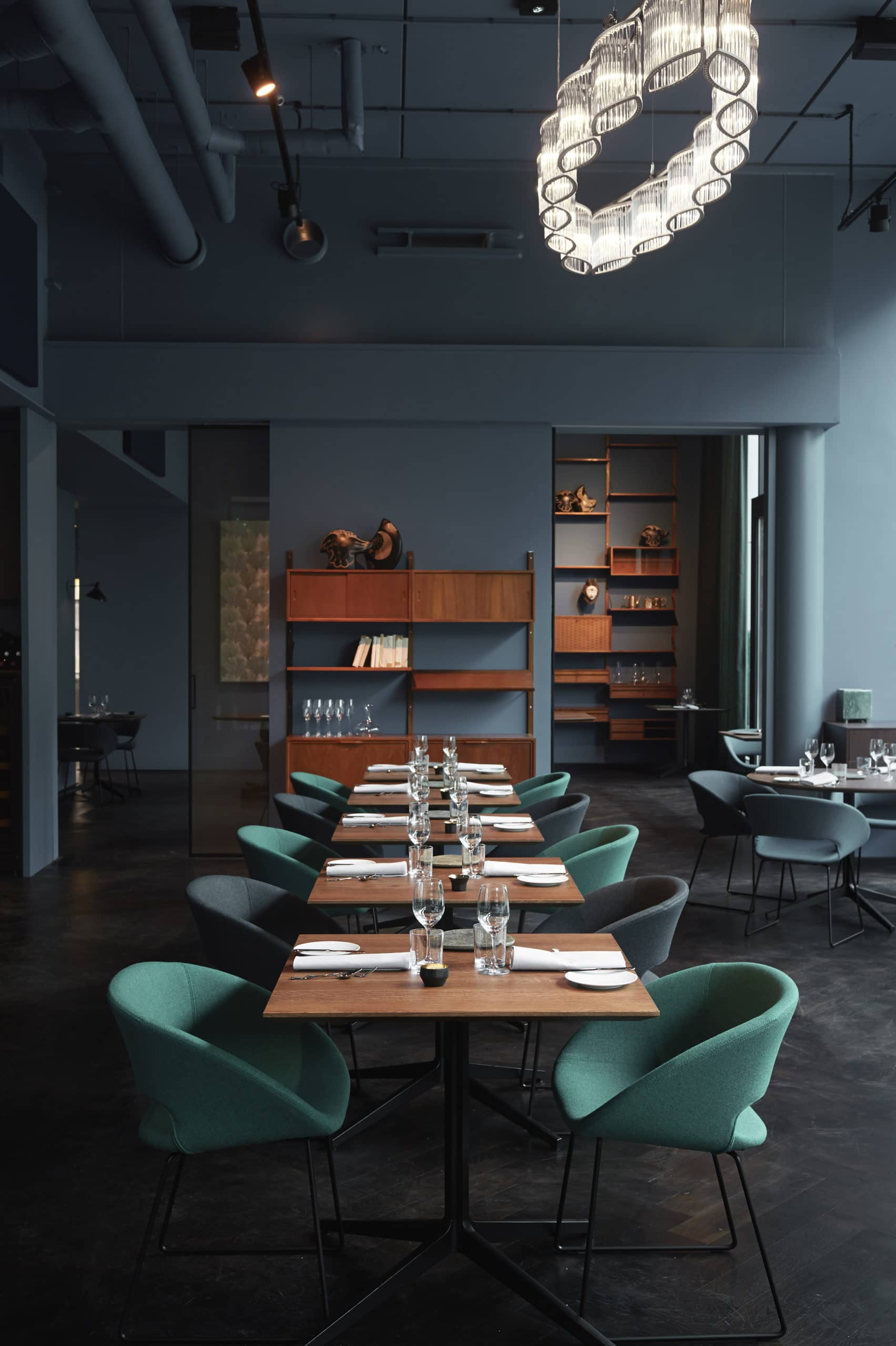Fitzgeralds restaurant interior design
