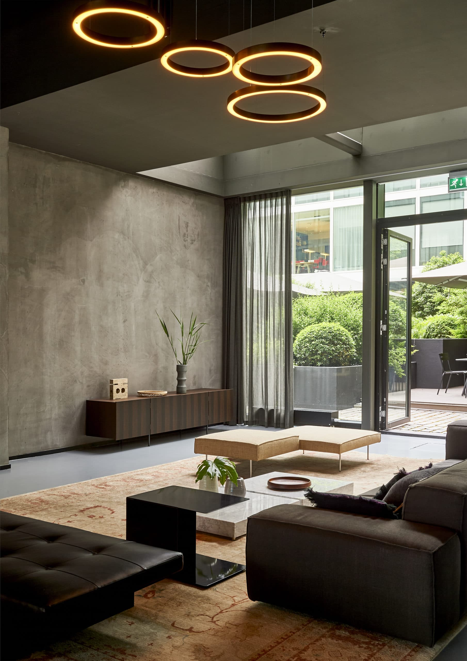 Interior shot Blakes Lounge Interior design project Dis Studio