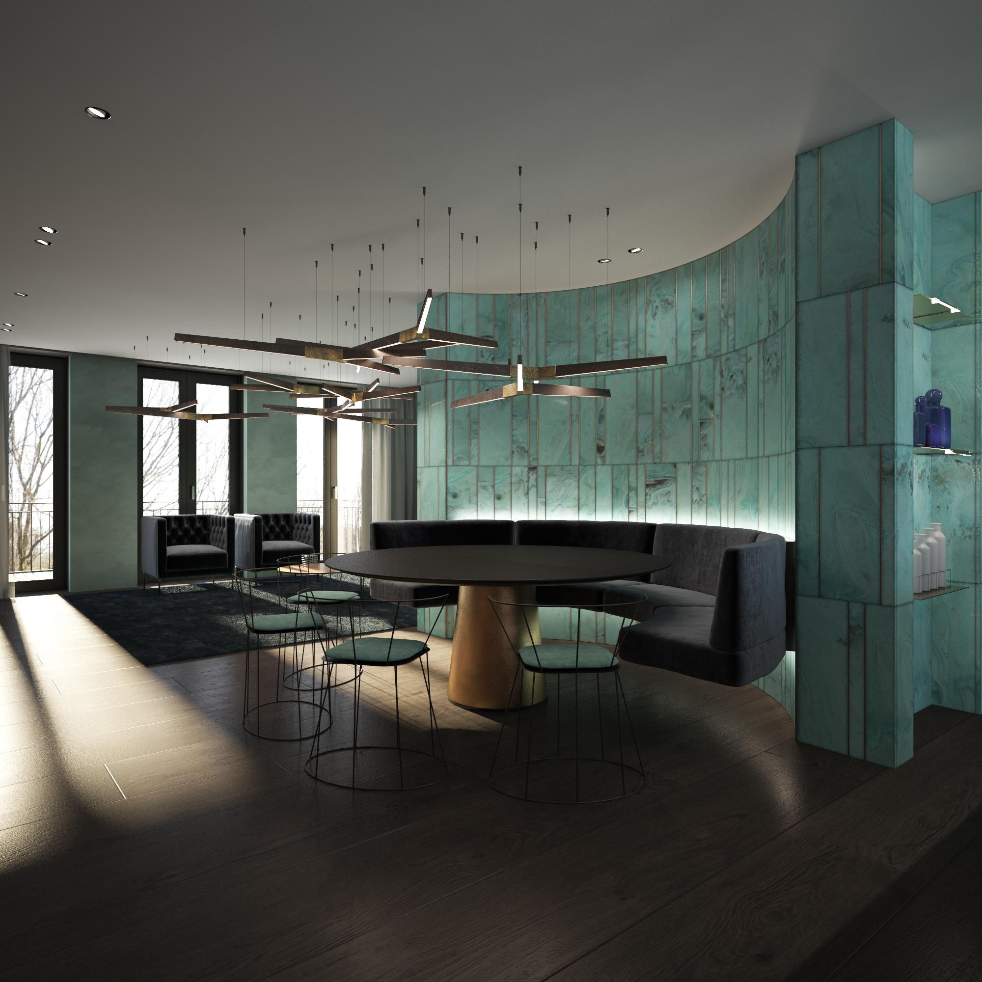 Wall textures and lighting Dis Studio
