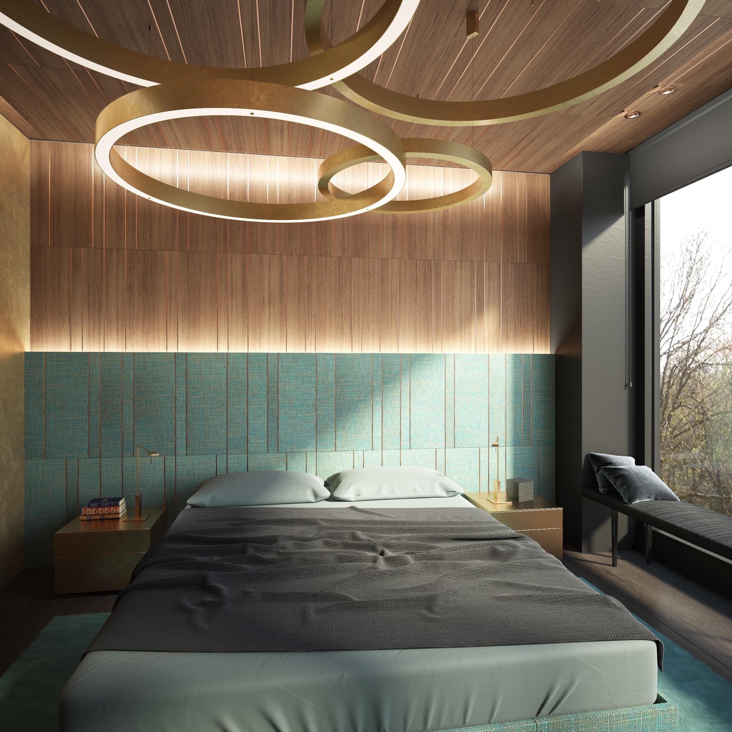 Dis Studio bedroom wall textures