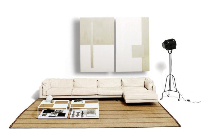 De Padova square sofa