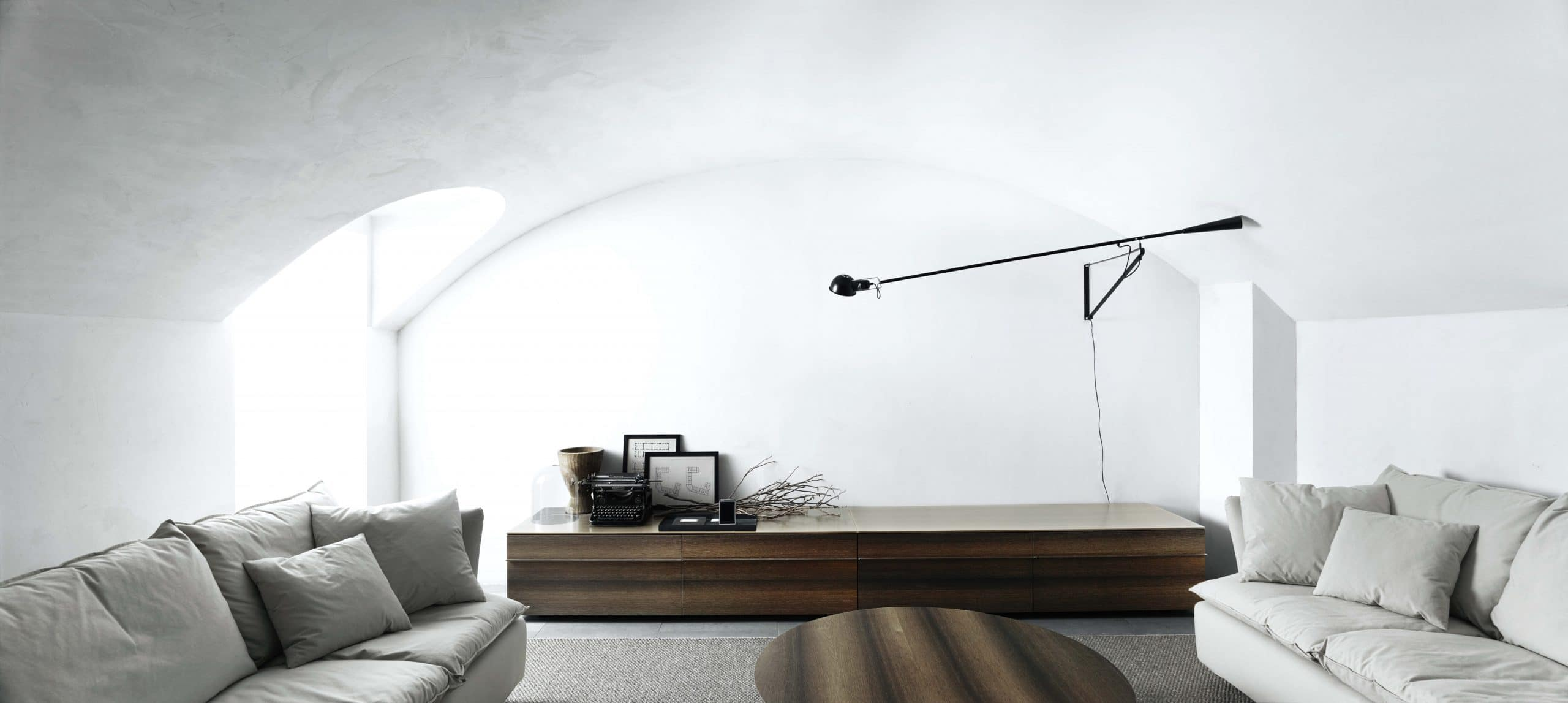 Living room interior designed by Boffi Studio Rotterdam