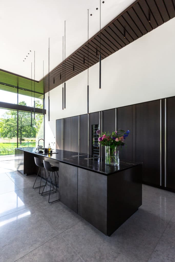 Boffi Kitchen as part of the Lakeside Villa interior design project